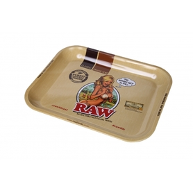 Поднос RAW METAL ROLLING TRAY - 'GIRL'