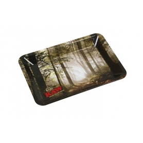 Поднос RAW METAL ROLLING TRAY - 'FOREST' mini
