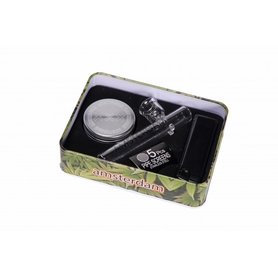 Набор Leaf Glass Pipe Giftset with MangoMix 2parts