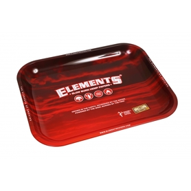 Поднос ELEMENTS Red Metal Rolling Tray