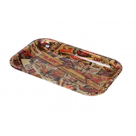 Поднос RAW METAL ROLLING TRAY - 'MIX' small