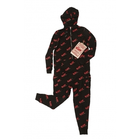 Пижама RAW BLACK ONESIE - S