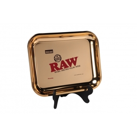 Поднос RAW METAL ROLLING TRAY - 'GOLD' large