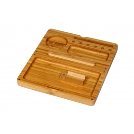 Поднос RAW Bamboo Back Flip Rolling Tray
