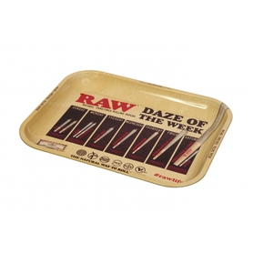 Поднос RAW METAL ROLLING TRAY - 'DAZE'