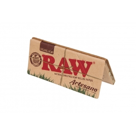 Папиросная Бумага Raw ORGANIC Artesano KS SLIM + Tips