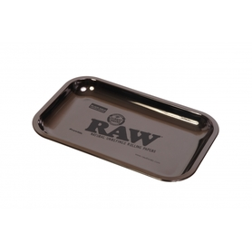 Поднос RAW METAL ROLLING TRAY - 'BLACK GOLD' large