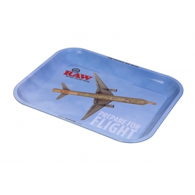 Поднос RAW METAL ROLLING TRAY - 'FLYING'