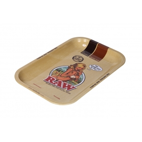 Поднос RAW METAL ROLLING TRAY - 'GIRL' small