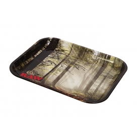 Поднос RAW METAL ROLLING TRAY - 'FOREST'