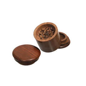 Гриндер Rosewood grinders- 4part - Flat Lid - Ø:50mm